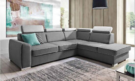 Delivery 1-10 days Corner Sofa Bed Sofa Corner DAVOS Brand New Bed Function and Storage