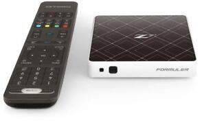 FORMULER Z7+ PREMIUM UHD IPTV SET TOP BOX WITH ANDROID 7 4K60HZ RECORDING & TIMESHIFTING