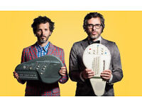 **FACE VALUE** 2x Flight of the Conchords / Echo Arena Liverpool / 25 June 2018