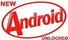 ANDROID MOBILES – NEW UNLOCKED $55 to $125. O