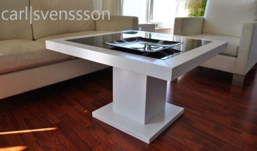 Design couchtisch s 360 wei get ntes glas carl svensson for Designer couchtisch ebay kleinanzeigen