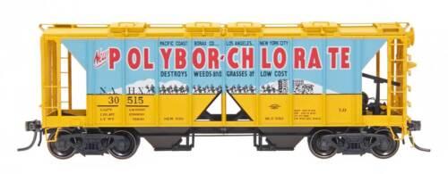 InterMountain HO 48643 Polybor-Chlorate NAHX 1958 Cu. Ft. 2-Bay Hopper