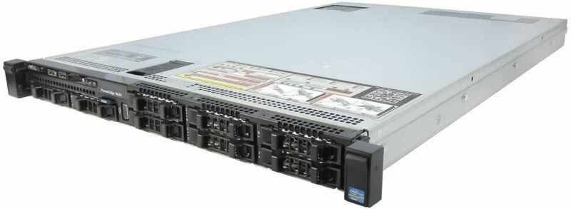 Dell PowerEdge R620 Server | 2X E5-2660v2 20 Cores | 64GB | H710 | 8X 600GB 10K