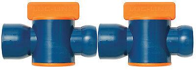 2 34 Female Npt Flow Control Valves 34loc-line Usa Original System 61517