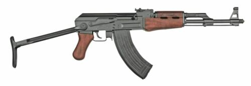 Non Firing Russian AK47 Folding Stock Assault Rifle Gun Prop Replica In Stock
