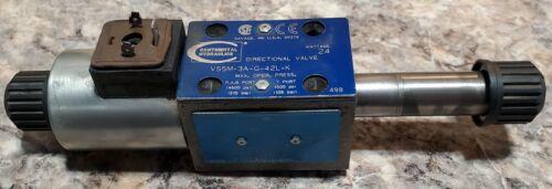 VS5M-3A-G-42L-K, Continental Hydraulics, Solenoid Valve