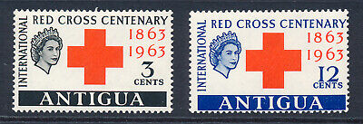 1963 RED CROSS CENTENARY COMPLETE SET OF CROWN AGENTS COUNTRIES MNH