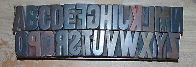 Complete 1 516 Tall Wood Letterpress Printing Blocks Type Alphabet