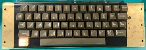 Apple II/II+ Keyboard - With encoder - Cleaned, Tested, Working