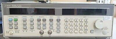 Hp Keysight Agilent 83752a 0.01 - 20 Ghz Synthesized Sweeper