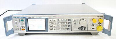 Rohde Schwarz Sma100a 9khz To 3ghz Signal Generator 1400.0000.02 Opt B46 B103m