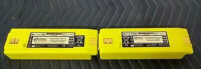 Lot Of 2 Cardiac Science Powerheart Aed G3 Genuine Replacement Battery Part