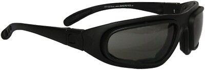 Helly Bikereyes Eagle Bikerbrille Motorradbrille mit Bügel und Band hoher Schutz