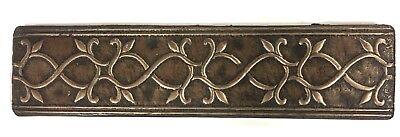 Bronze Metallic 2x8 Resin Decorative insert Tile Accessory Backsplash Wall