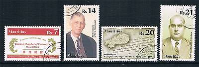Mauritius 2009 Anniversaries & Events 4v SG 1199/202 CTO