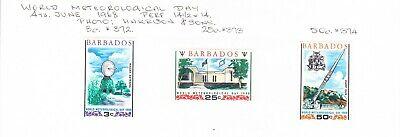 Barbados 1968 Meteorological Day Set MH