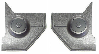 1967-68 Mustang Hardtop Coupe Kick Panels -- With Speakers