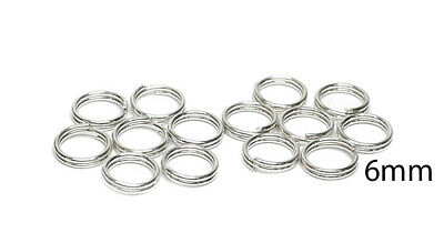 STERLING SILVER 14 X 6MM  SPLIT LINKS  FOR ALL CHARM