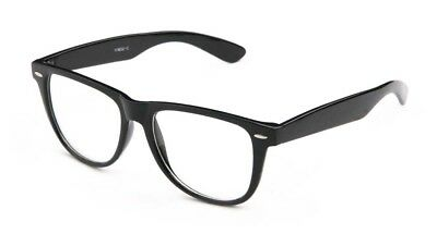 Nerdy Costume (Nerdy Clear Lens Glasses for Costume Wear Multiple Colors)