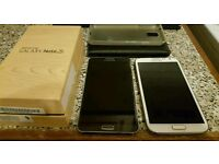 For sale Samsung galaxy note 2 16gb and note 3 32gb both unlocked