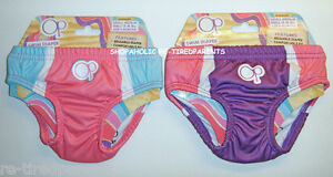 Op-SWIM-DIAPER-BOTTOMS-PINK-or-PURPLE-GIRLS-INFANT-SIZE-6-MO-NWT