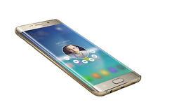 Unlocked Samsung Galaxy S6 Edge Plus Mobile Phone - Gold - Boxed