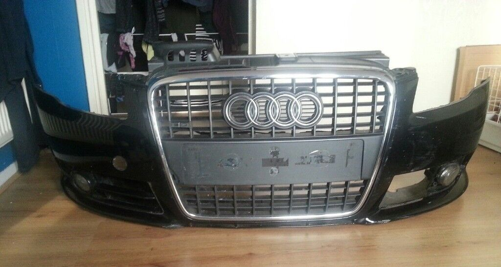 Audi a4 b7 2004 to 2008 sline front bumper