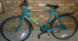 """Raleigh Mens Bicyle Bike 19"""" Mirage Good Condition"""