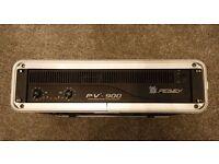Peavey PV-900 stereo power amplifier + flight case
