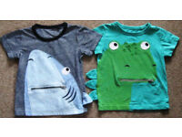 Boys clothes age 1 – 5 years, 25p-£8 per item.