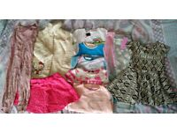 Girls clothes bundle 4-5, 5-6 years Coat, Joggers, T-Shirts, Jumper, Skirt, Leggings, Jumpsuit
