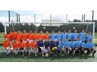 11 aside football in South London: Players wanted for football team. SUNDAY FOOTBALL TEAM.