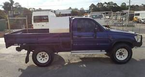 1998 TOYOTA HILUX LN167R SINGLE CAB UTE 4X4 3L DIESEL MANUAL Varsity Lakes Gold Coast South Preview