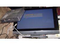 JVC VM42V3 PLASMA 42 inch TV + remote PinP