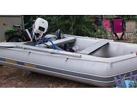 Excel SD330 Inflatable Boat with 15HP Johnson/Evenrude Outboard
