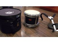 Andate Reactor Marching Snare Drum with Harness and Carry case .