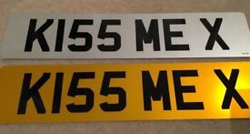 K155 MEX - CHERISHED NUMBER PLATE - KISS