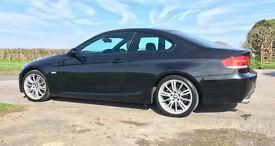2008 BMW 330i Petrol Coupe M Sport in Black (E92)