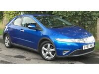 Honda Civic 1.8 SE I-VTEC S-A 5 DOOR HATCHBACK CHEAP AUTOMATIC MOT MARCH 2019