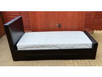 Single Bed with Drawer and Mattress