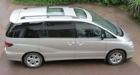 Toyota Previa D4D 2.0 Diesel 7 Seater Genuine 119,900 Miles And Full Toyota Dealer Service History