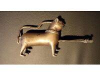 Antique, decorative brass lock