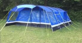 Oasis 8 tent, gear & trailer for sale. Includes ground sheet & canopy. Used twice. Ex condition.