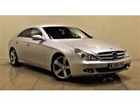 MERCEDES-BENZ CLS CLASS 3.0 CLS350 CDI 4d 222 BHP + 2 PREV OWNERS + SERVIC (silver) 2009