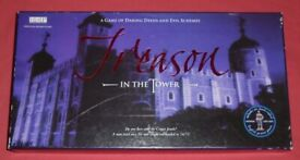 'Treason In The Tower' Board Game