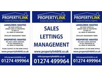LANDLORDS WANTED! £0 ADVERTISING COSTS! HOUSES AND FLATS TO LET FOR RENT BD2 BD3 BD7 BD8 BD9 HEATON