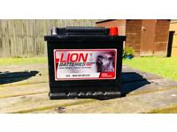LION 40Ah 330CCA Battery for petrol vehicles