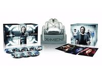 X-Men: Cerebro Helmet Complete Collection. Rare limited edition collector's set, 7 films on blu-ray