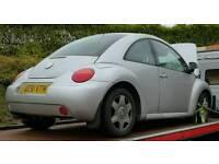 Breaking VW Beetle