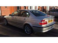 PRICE DROP £1450 * Full years Mot * Low Mileage * BMW 320i SE Saloon* MOT'D to May 2018